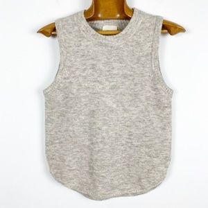 Aritzia Wilfredfree Wool sleeveless sweater vest